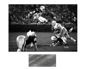 Auburn-LSU 1973, Associated Press Best Sports Photo Award Winner, Courtesy Herb Cawthorne, Camera 1