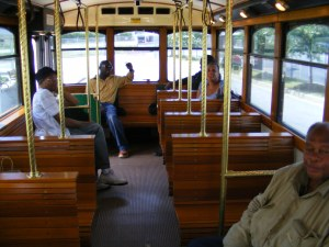 Metra Trolley Bus Interior