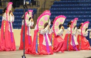 Korean Fan Dancers, Columbus Civic Center
