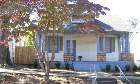 Califrona Style Bungalow, Bibb City, Columbus, Georgia
