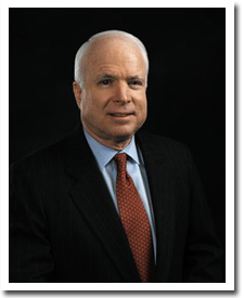 Sen. John McCain, (R) Arizona