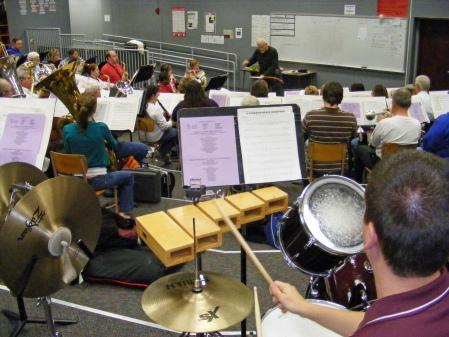 Bob Barr Community Band Rehearsal, Jordan High, Columbus, GA