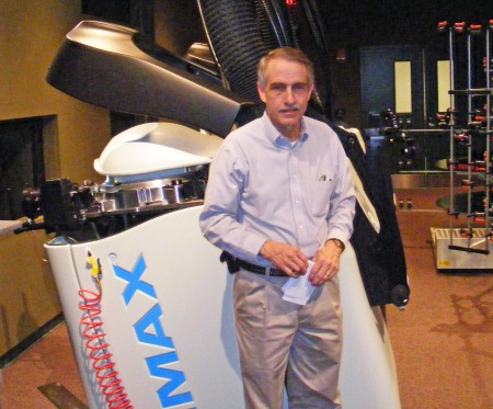 Chris Joiner, IMAX Projection and Audio Visual Manager, IMAX at Patriot Park, National Infantry Museum
