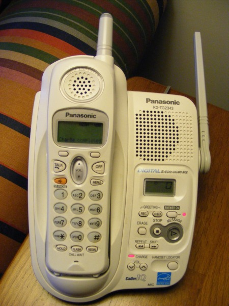 My answering machine
