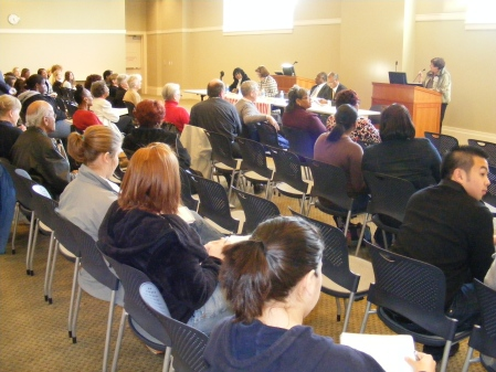 Muscogee County democratic Party Town Hall Meeting, Columbus Public Library, Columbus GA