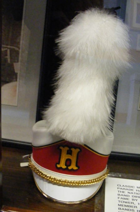 Band hat, National High School Band Director's Hall of Fame, Columbus, Georgia