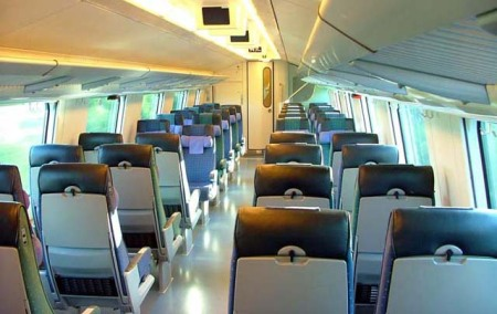 Finland Passenger Train Car (Courtesy: Jonic)