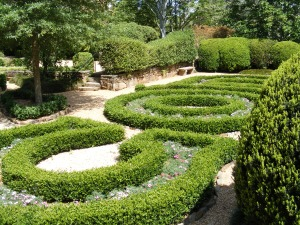 Hills and Dales formal gardens, LaGrange, Georgia