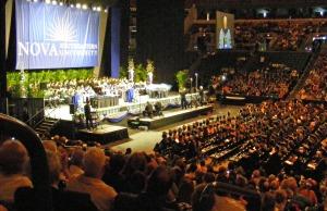 Nova Southeastern University Healthcare Professionals Division 2009 graduation, Ft. Lauderdale, Florida