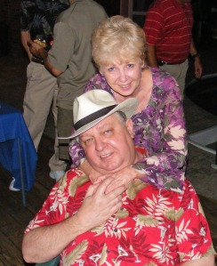 "Wayne and Betty Bennett, Wayne Bennett's  ""oldtimers"" retirement party"