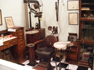 Dentist office, Savannah History Museum, Savannah, GA