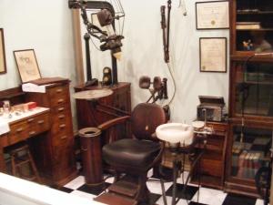 Dentist office, Savannah History Museum, Savannah, GA