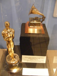 Johnny Mercer's Oscar and Grammy, Savannah History Museum, Savannah, GA