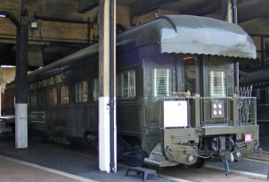 Central of Georgia office car,  Roundhouse Railroad Museum, Savannah, GA
