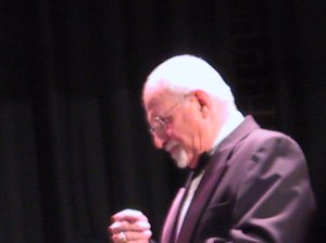 George Crradino conducting the Bob Barr Community Band, Springer Tehater, Columbus, GA