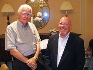 Al Fleming, William Calley at Kiwanis Club of Greater Columbus, Columbus, GA