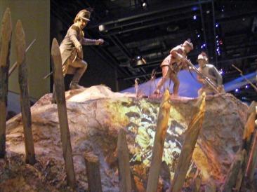 Revolutionary War Exhibit, National Infantry Museum, Columbus, GA