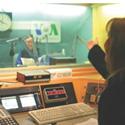 Voice of America radio studio (Courtesy: Voice of America)