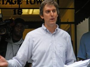 Muscogee County democratic Party Vice Chair John Van Doorn