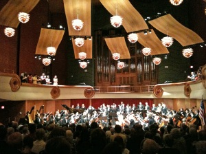 Columbus State University Philharmonic Orchestra (I took this with my iPhone camera.)