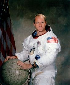 1971 NASA photo of astronaut Al Worden