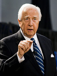 David McCullough speaking at Empory University. Photo by Brett Weinstein.