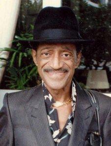 Sammy Davis, Jr. in 1989. Phot6o by Alan Light.