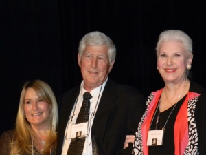 Dina Woodruff,  Jim Woodruff, III, and Janet Beerman