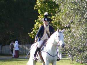 Actor portraying Maj. Gen. Lafayette, Williamsburg, VA