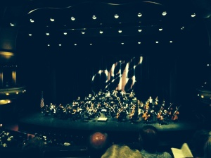 Columbus Symphony in Bill Heard Theater at the River Center.
