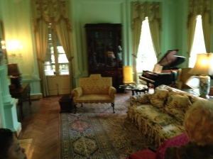 Emily Inman's Parlor in the Swan House in Atlanta's tony Biuckhead.