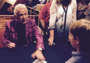 Doc Severensin autographing CDs at River Center, Columbus, GA
