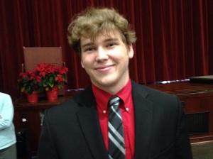 JVHS Band Director Brian Walker
