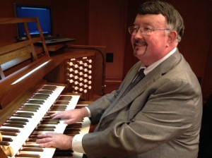 Professor of Music  Joseph Golden, University Organist, Director of External Relations and Director Opera, Schwob School of Music, Columbus State University